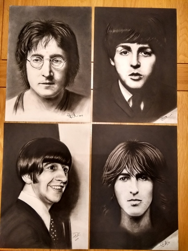 The Beatles by GP1805